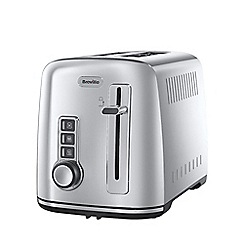 Breville - Stainless steel 2 slice toaster in silver VTT570