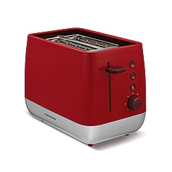 Morphy Richards - Red chroma 2 slice toaster 221109