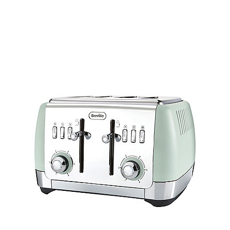 duck egg light blue toaster