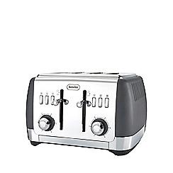 Breville - Strata matt grey 4 slice toaster VTT764