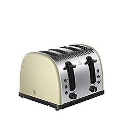 Russell Hobbs - 'Legacy' 4 slice toaster in cream 21302