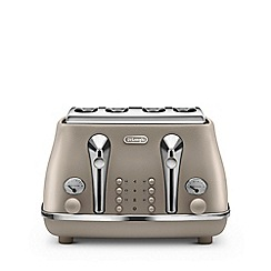 DeLonghi - Sand beige 'Elements' toaster CTOE4003.BG