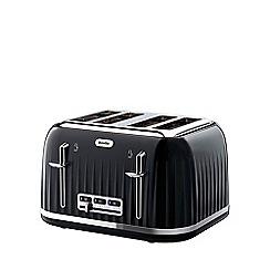 Breville - 'Impressions' black 4 slice toaster VTT476