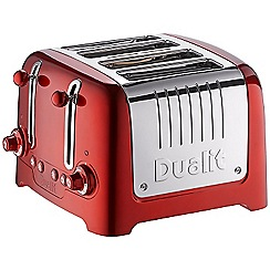 Dualit - 4 slice 'Lite' red toaster 46281