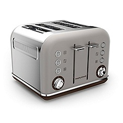 Morphy Richards - Pebble 'Accents' retro traditional 4 slice toaster 242102
