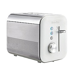 Breville - White high gloss 2 slice toaster VTT686