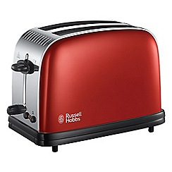 Russell Hobbs - Red Colours Plus 2-slice toaster 23330