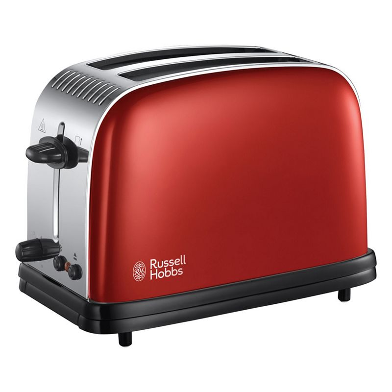 Russell Hobbs – Red 'Colour Plus' 2 Slice Toaster 23330