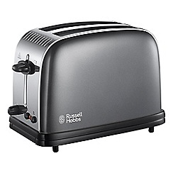 Russell Hobbs - Grey 'Colour Plus' 2 slice toaster 23332