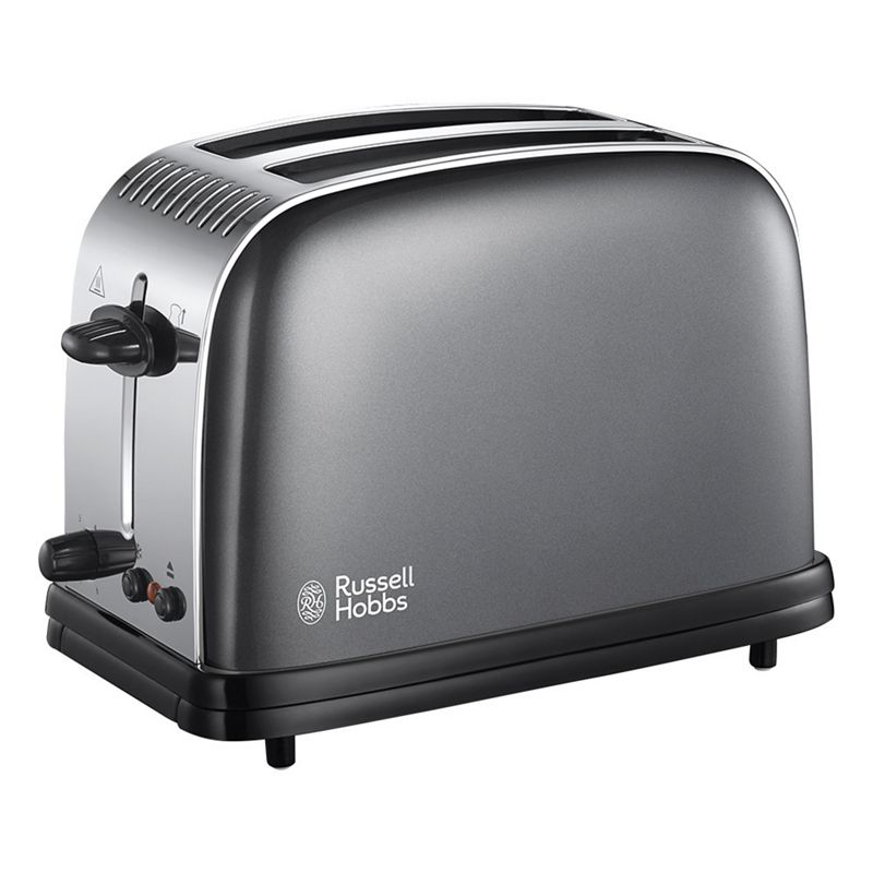Russell Hobbs – Grey 'Colour Plus' 2 Slice Toaster 23332