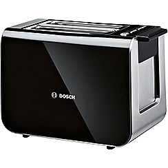 Bosch - Black styline 2 slice toaster TAT8613GB