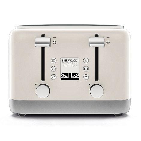 kenwood cream kmix toaster tfx750cr debenhams. Black Bedroom Furniture Sets. Home Design Ideas