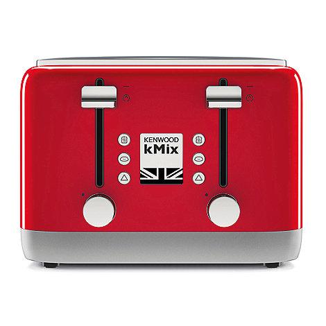 kenwood red kmix toaster tfx750rd debenhams. Black Bedroom Furniture Sets. Home Design Ideas