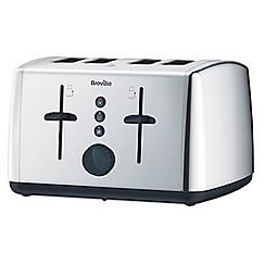 Breville - Stainless steel 'Vista' 4 slice toaster VTT549