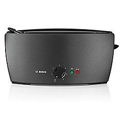 Bosch - Black electronic sensor toaster TAT6805GB
