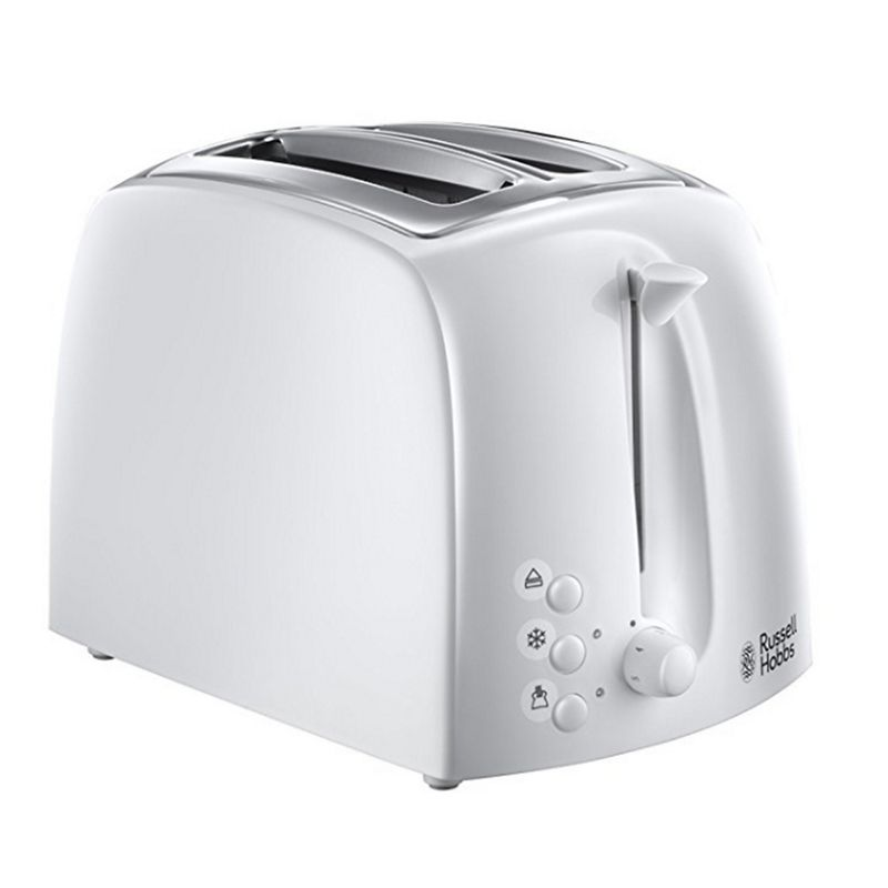 Russell Hobbs – White 'Textures' Toaster 21640