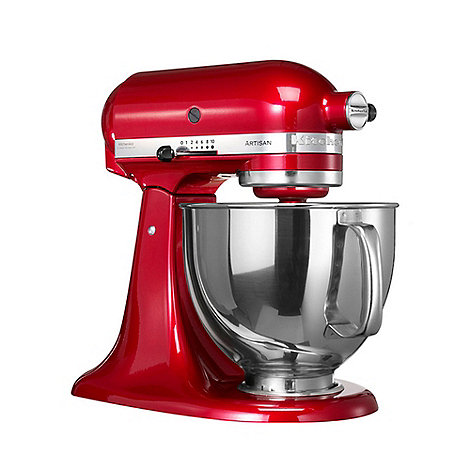 KitchenAid - Artisan KSM150 Red stand mixer