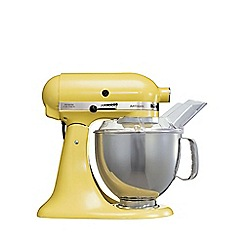 KitchenAid - Artisan® Majestic Yellow stand mixer KSM150