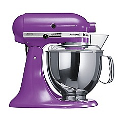 KitchenAid - Purple 'Artisan' stand mixer 5KSM150PSBGP