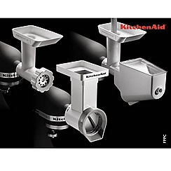 KitchenAid - White stand mixer attachment pack FPPC
