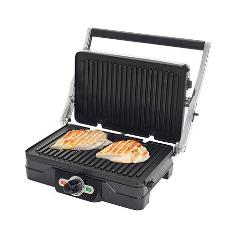 Debenhams - Silver health grill HG3BS