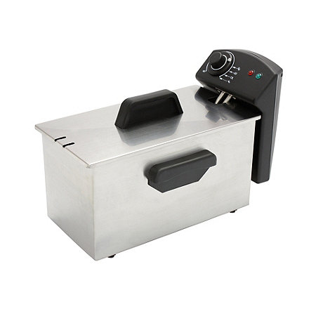 Debenhams - Silver semi professional fryer FF2BS