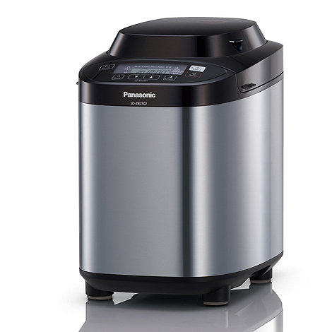 Panasonic - Stainless steel 'SDZB2502' breadmaker
