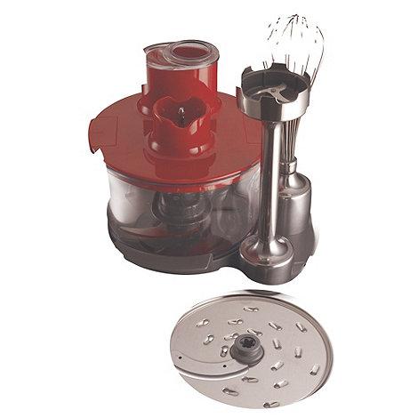 Kenwood - Red +Kmix HB891+ handheld blender