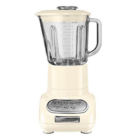 KitchenAid - Artisan 5KSB5553BAC Almond Cream blender with glass pitcher