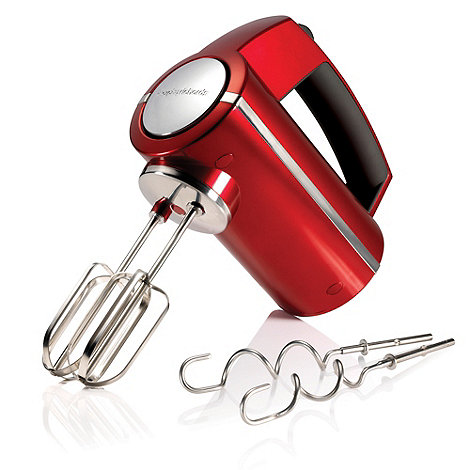 Morphy Richards - Accents 48989 Red hand mixer