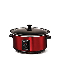 Morphy Richards - Sear & stew 3.5l slow cooker - red 48702