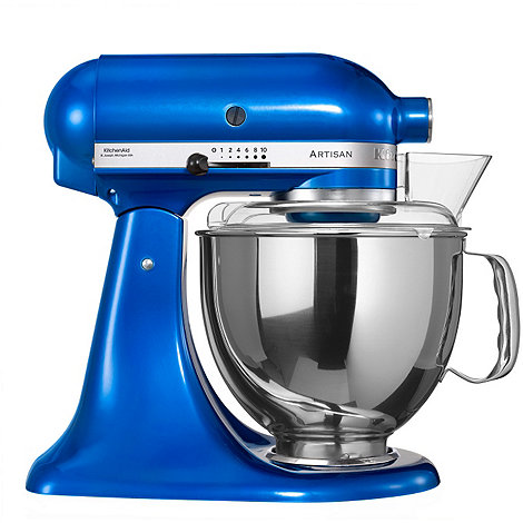 KitchenAid - Artisan® Electric Blue stand mixer KSM150