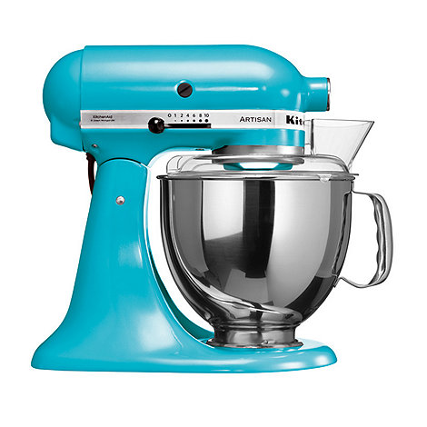 KitchenAid - Artisan+ Crystal Blue stand mixer KSM150
