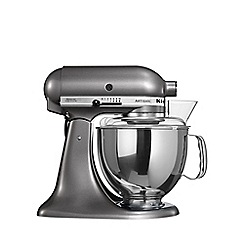 KitchenAid - Artisan® Medallion Silver stand mixer KSM150