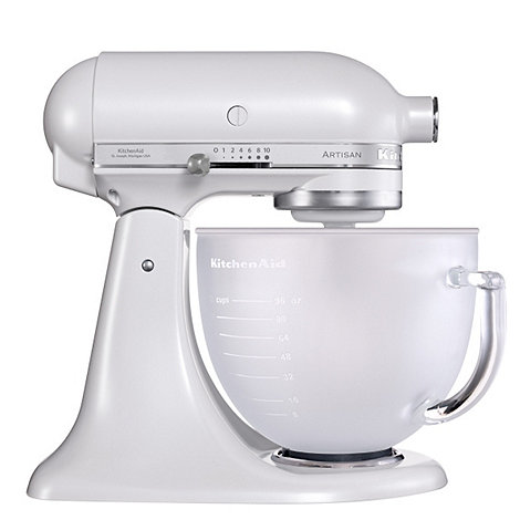 KitchenAid - Artisan 5KSM156BFP Frosted Pearl stand mixer