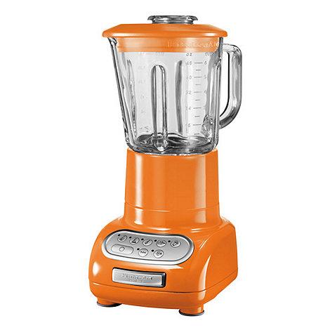 KitchenAid - Artisan KSB5553BTG Tangerine blender with glass pitcher