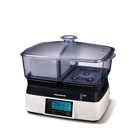 Morphy Richards - Intellisteam compact food steamer 48775