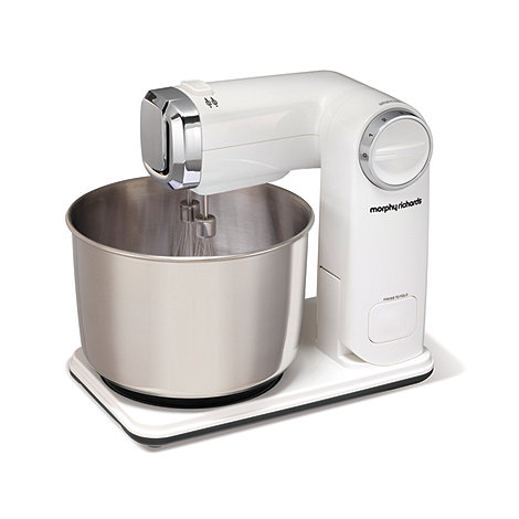 Morphy Richards - White Folding Stand Mixer 48992