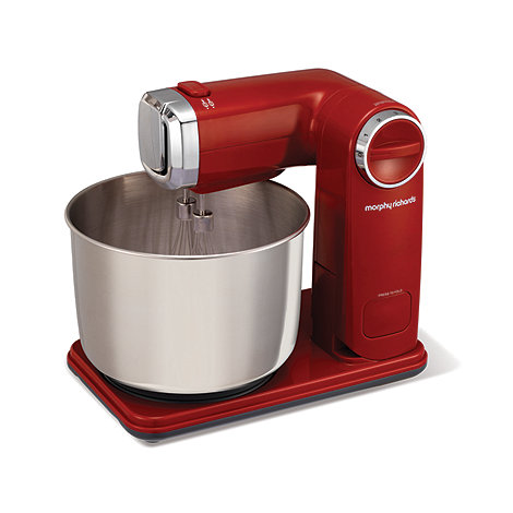 Morphy Richards - Red Folding Stand Mixer 48993