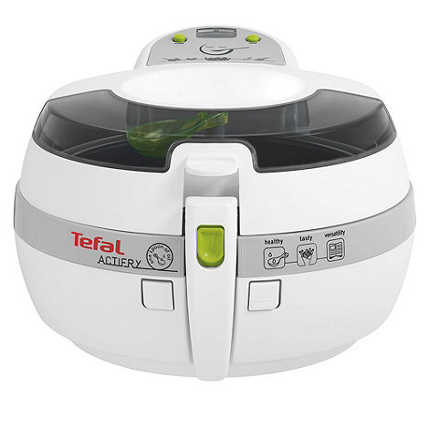 Tefal - White ActiFry 1kg health fryer AL806040