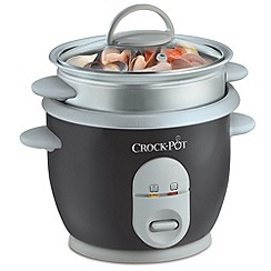 Crock-Pot - Crock Pot Grey Rice Cooker CKCPRC4726-060