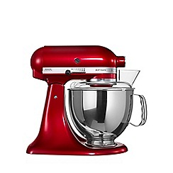 KitchenAid - 'Candy Apple' KSM150BCA' food mixer