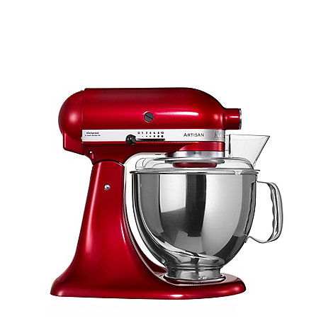 KitchenAid - +Candy Apple+ KSM150BCA+ food mixer