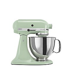 KitchenAid - Artisan pistachio food mixer KSM150BPT