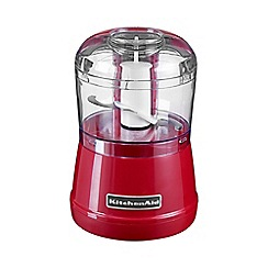 KitchenAid - Red Empire Mini Chopper 5KFC3515BER