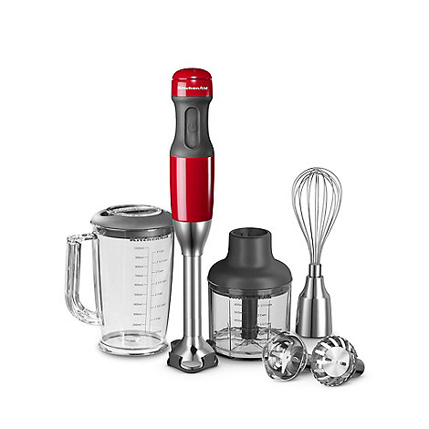 KitchenAid - 5KHB2572BER +Empire Red+ corded hand blender set