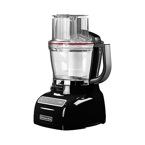 KitchenAid - Black food processor 5KFP1335BOB