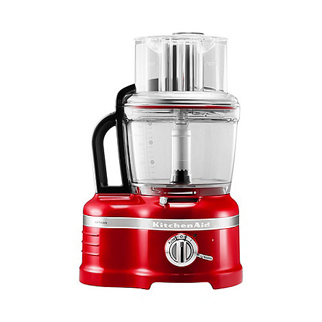 KitchenAid - Red +Artisan+ Empire 4.1L Food Processor 5KFP1644BER
