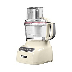 KitchenAid - Cream 2.1L Food Processor 5KFP0925BAC