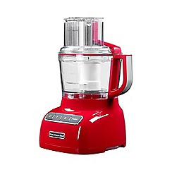 KitchenAid - Red Empire 2.1L Food Processor 5KFP0925BER